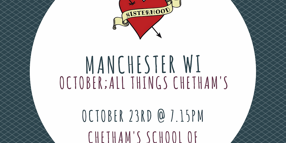 October Meeting Chetham's Tour