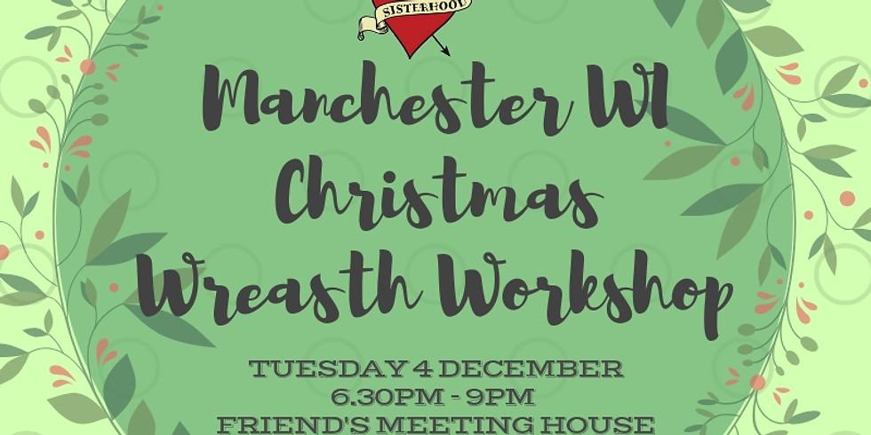 Christmas Wreath Making Workshop - Tue 4 December