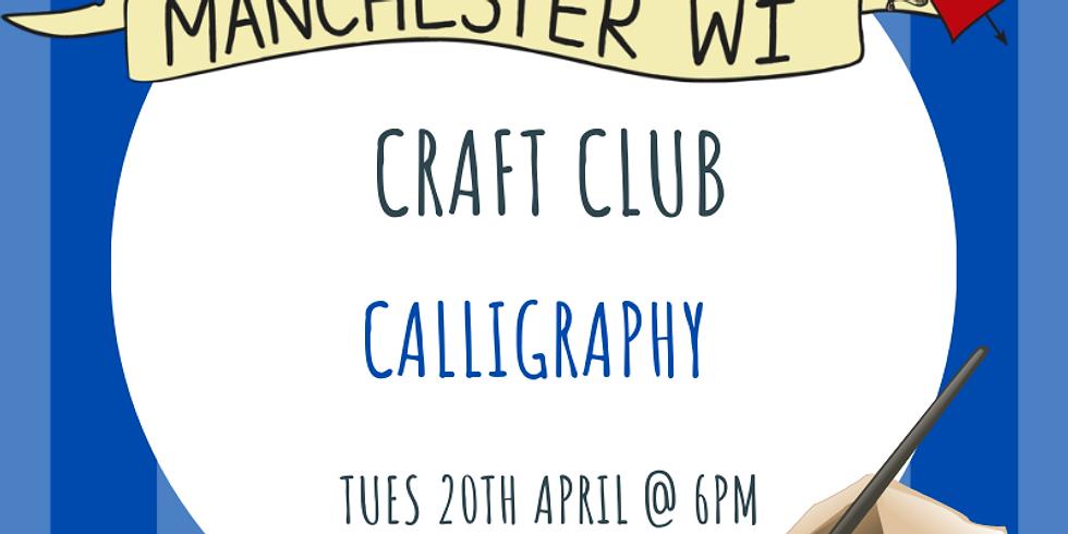 Craft Club: Calligraphy