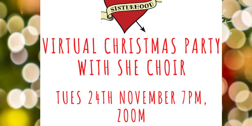 November Main Meeting - Virtual Christmas Party with She Choir