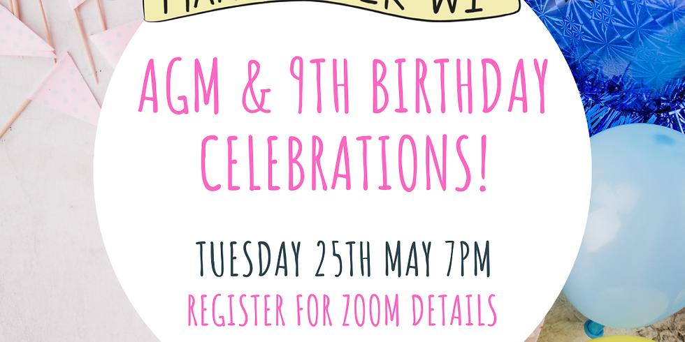 Manchester WI AGM & 9th Birthday Celebrations!