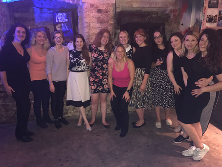 Lady Skillers Salsa 2017-the beginning!