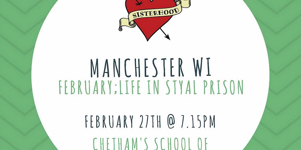 February Meeting: Styal Prison