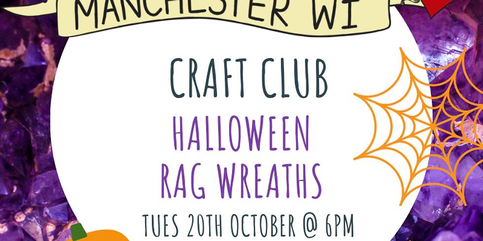 Craft Club: Halloween Rag Wreaths