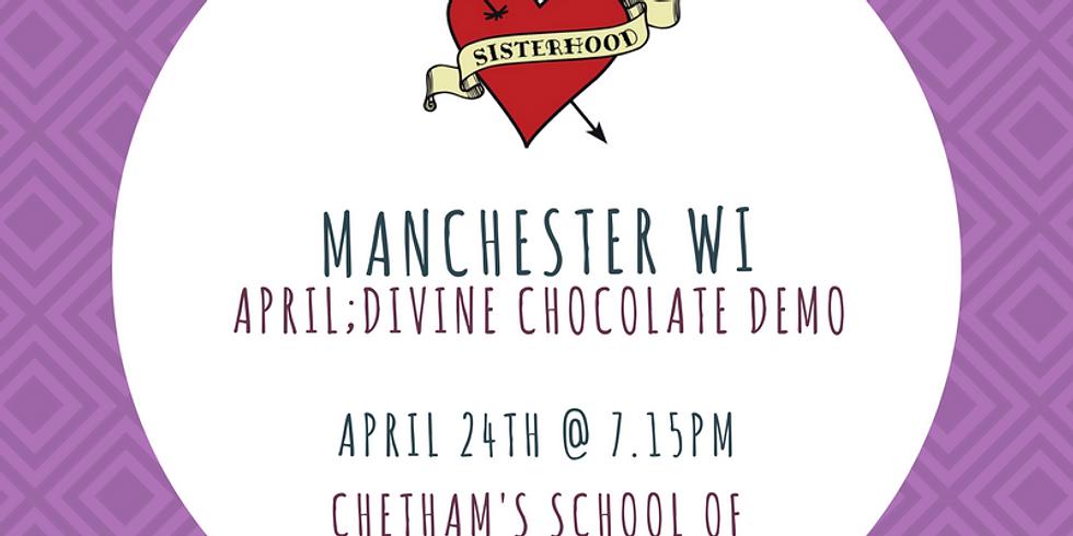 April Meeting: Divine Chocolate