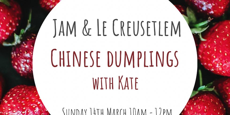 Jam and Le Creusetlem: Chinese Dumplings