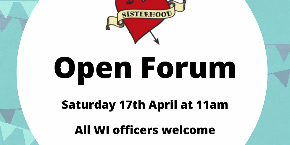Open Forum: Inter-WI collaboration