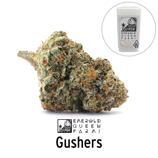 Emerald Queen - Gushers (flower and jar)