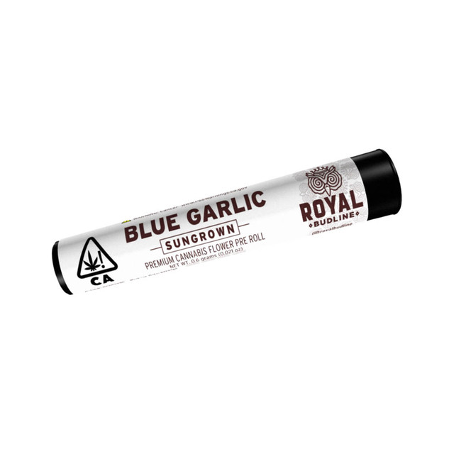 Royal Budline - Blue Garlic Pre Roll.jpg