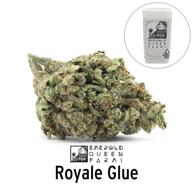 Emerald Queen - Royale Glue (flower and