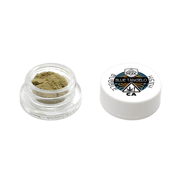 bubble hash - Blue Tangelo (hash and jar