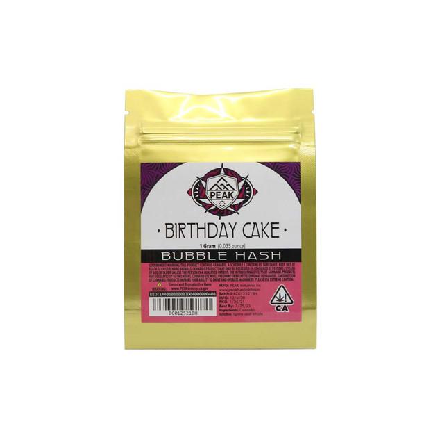 PEAK Bubble Hash - Birthday Cake (bag).j