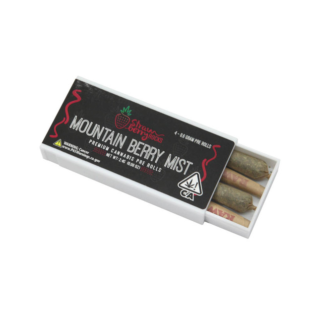 SR - Mountain Berry Mist pre roll 4pack