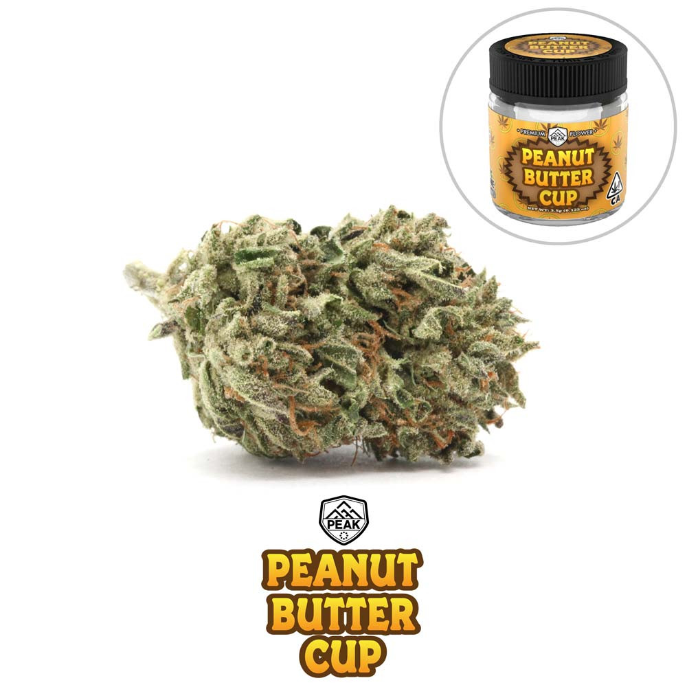 PEAK - Peanut Butter Cup (flower and jar
