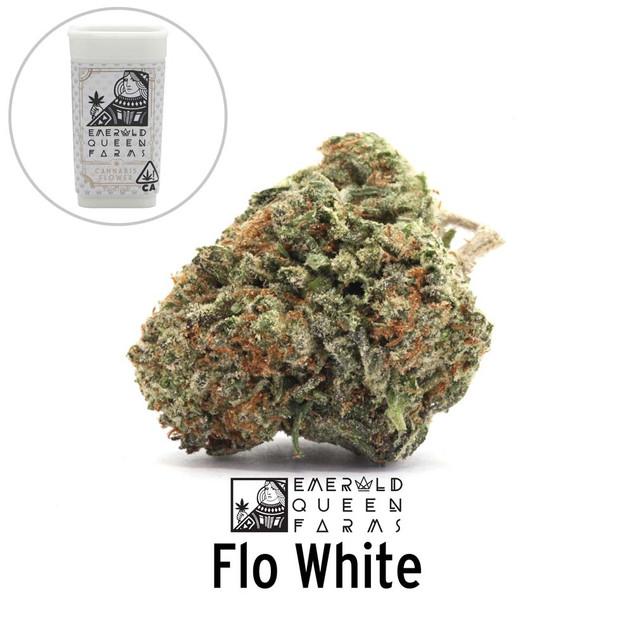 Emerald Queen - Flo White (flower and ja