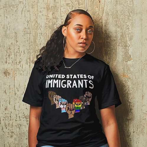 United States of Immigrants Unisex T-shirt