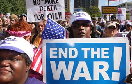 US LABOR SAYS: NO WAR ON IRAN! US OUT OF IRAQ!