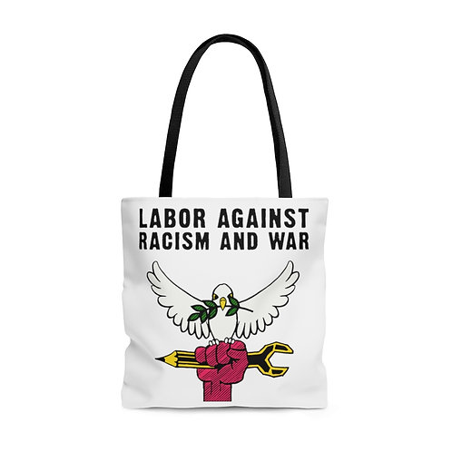 Tote Bag Labor Against Racism and War