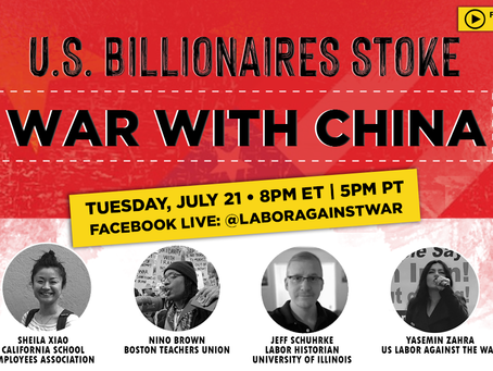 BILLIONAIRES STOKE RACIST WAR WITH CHINA