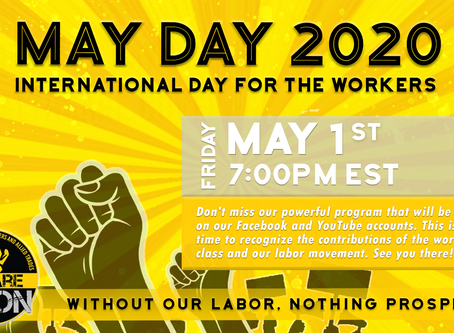 DON'T MISS IT: MAY DAY 2020 SPECIAL