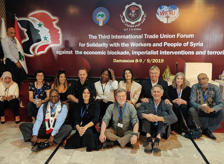 DEFENDING WORKER SOLIDARITY: TRADE UNION CONFERENCE IN SYRIA