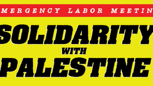 EMERGENCY LABOR MEETING FOR PALESTINE