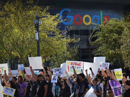 ALPHABET WORKERS RAISE EXPECTATIONS FOR LABOR