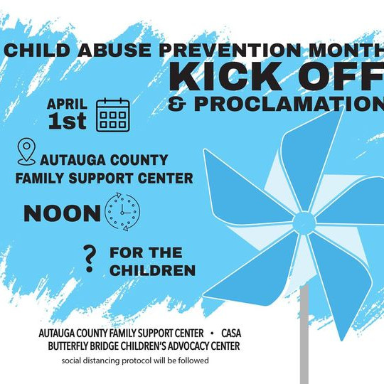 Child Abuse Prevention Month Kick-Off & Proclamation