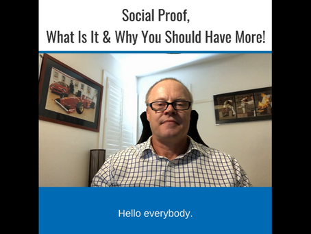 Social Proof - What is It? Why You Should Have More & How it Can Benefit Your Business!