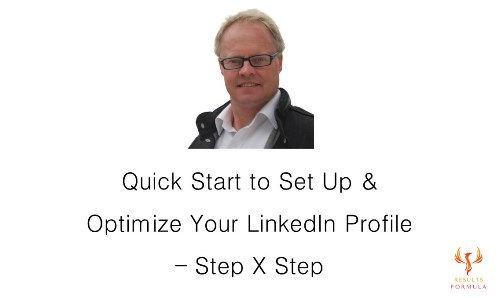Set Up & Optimize Your LinkedIn Profile