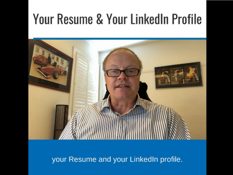 Your Resume & Your LinkedIn Profile