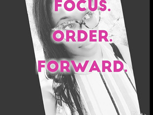 Focus. Order. Forward.