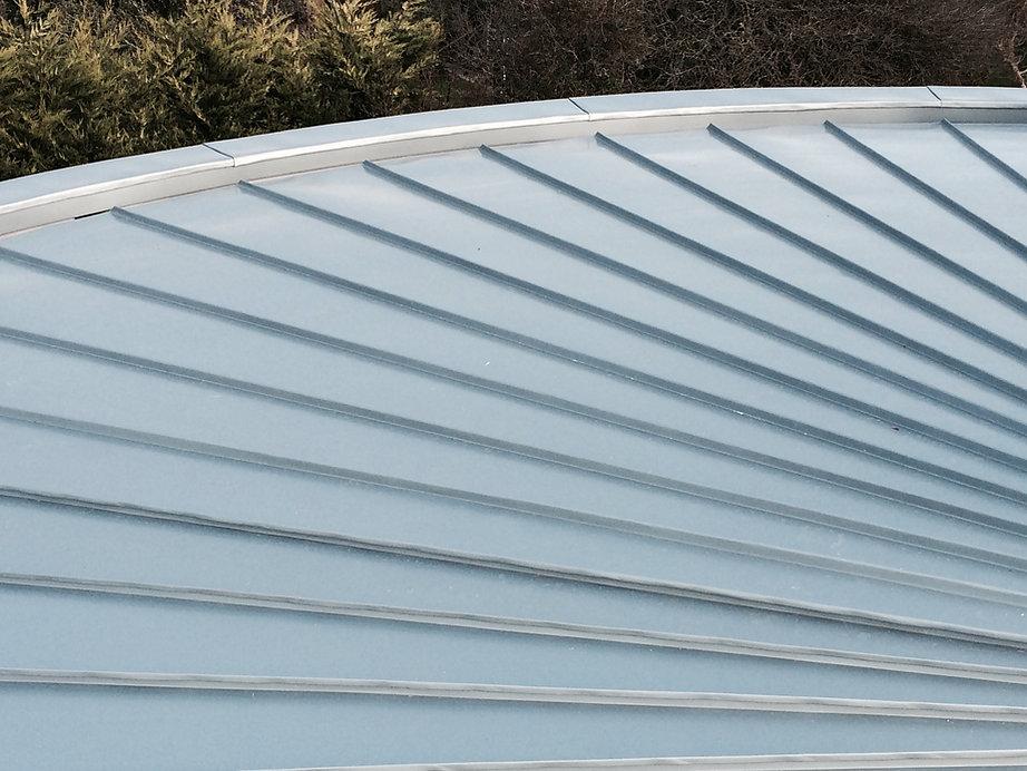 Circular Zinc Roofing