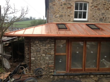 Copper Roofing Plymouth
