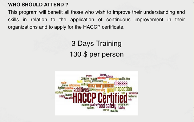 Do you want to Implement HACCP System? | Food Safety | Phnom Penh ...
