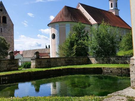 Besuch in Wessobrunn, einer Klosteranlage im Bayerischen Landkreis Weilheim-Schongau