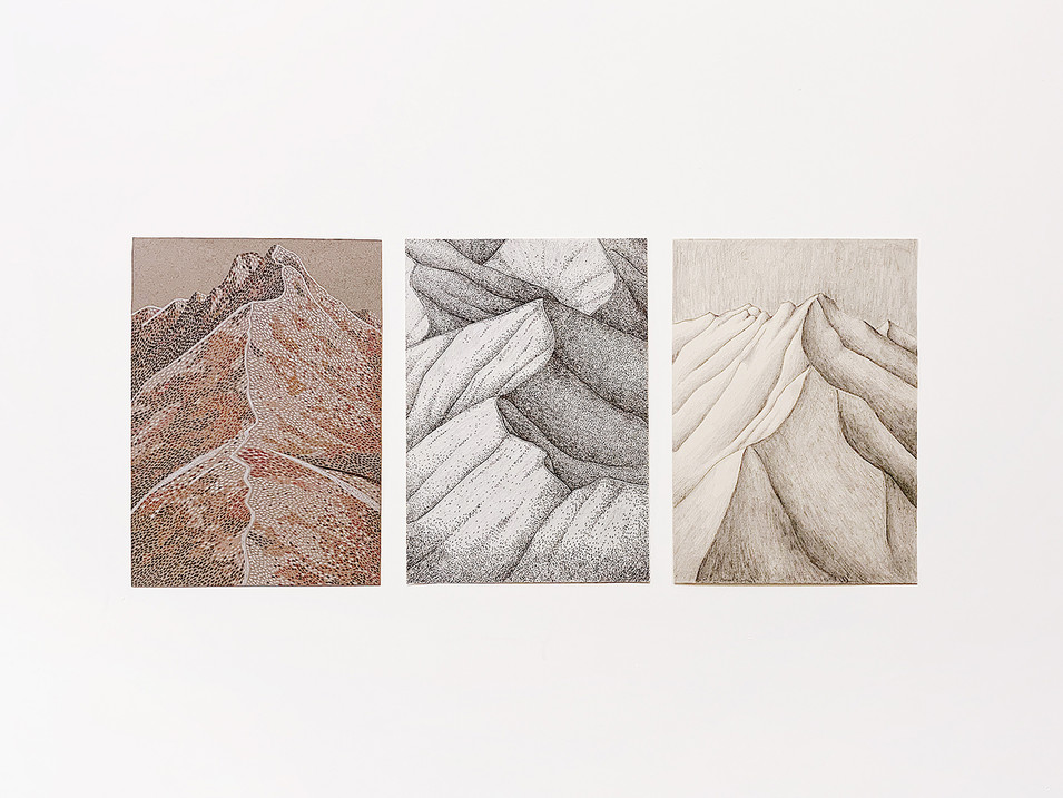 """""""Mountains Beyond Mountains"""" series / 2018 (ongoing)"""
