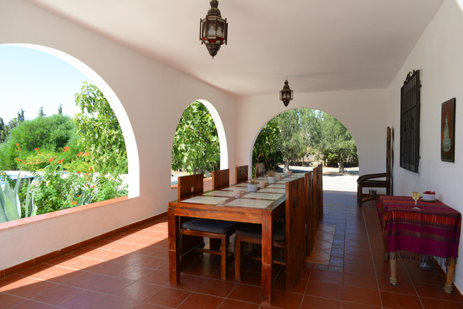 Casa Rural Tabernas Cortijo OrO Verde