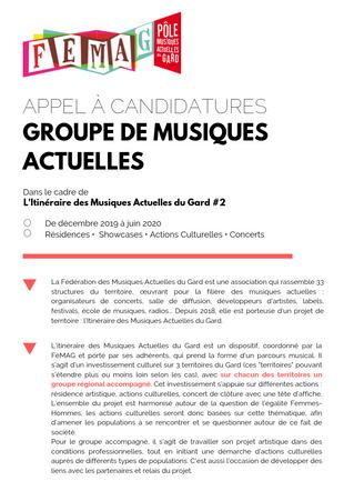 La FéMAG recherche 3 groupes régionaux ! Appel à Candidature IMAG#2