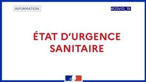 Prorogation de l'état d'urgence sanitaire