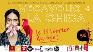 IMAG#2 : Concert Mecavolic + La Chica