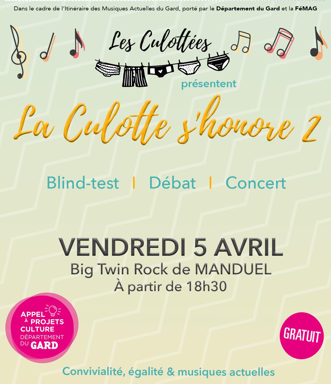 Flyer La Culotte s'Honore 2