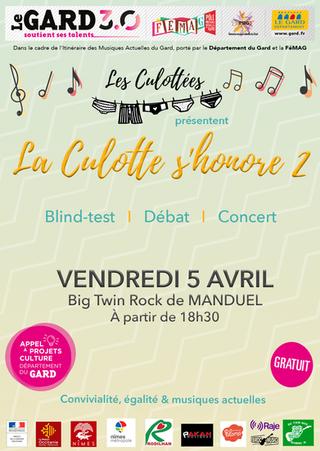 La Culotte s'Honore 2