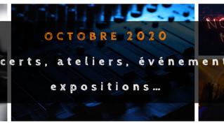 L'AGENDA DE LA FéMAG - Octobre 2020