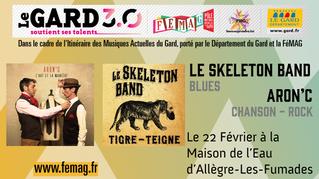 Les prochains rendez-vous de l'Itinéraire des Musiques Actuelles du Gard