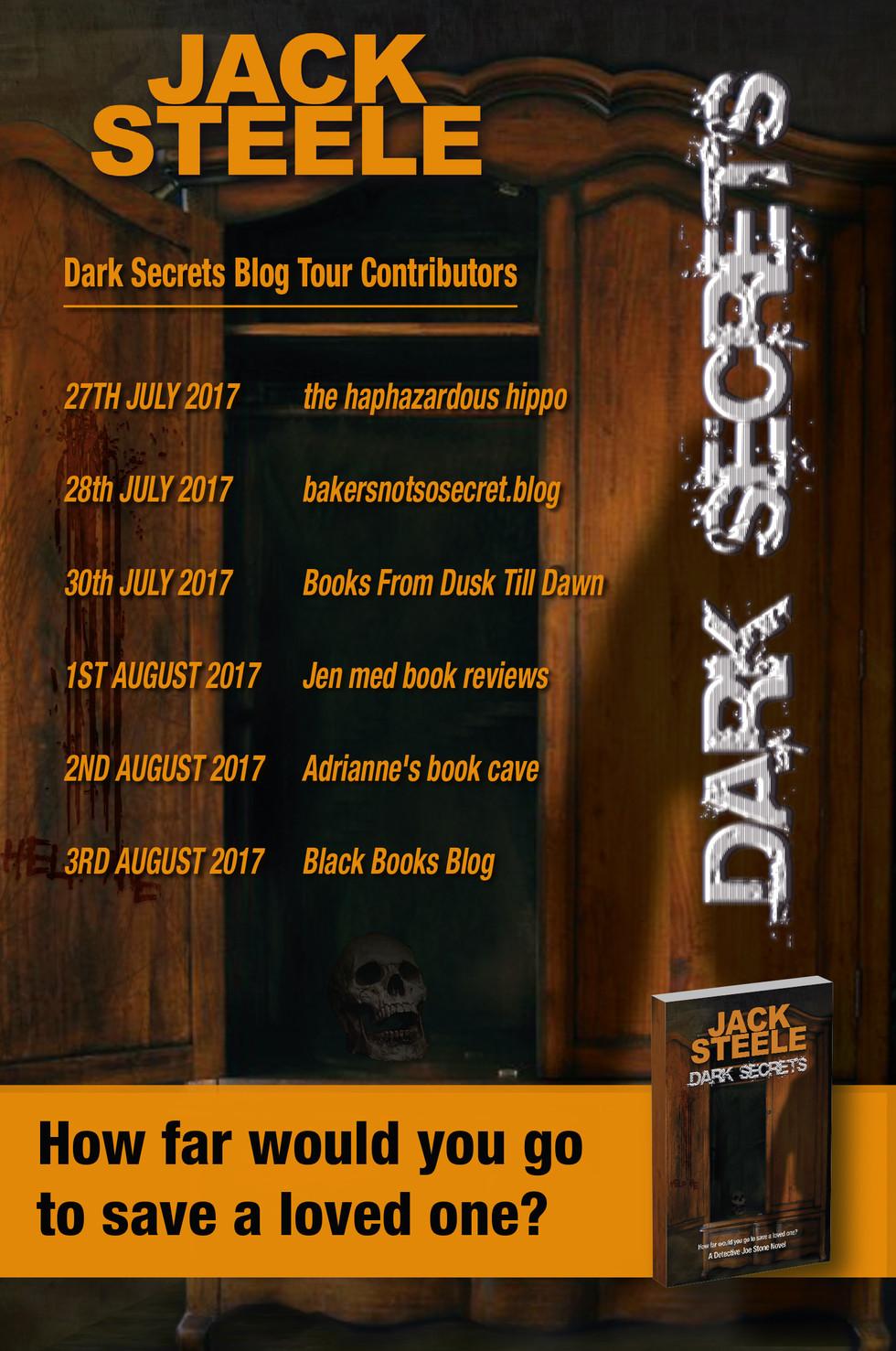 Dark Secrets Blog Tour