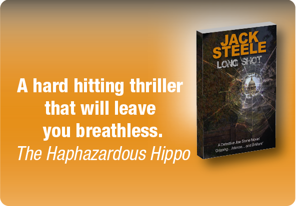 It's publication day for Long Shot! The 2nd book in the Detective Joe Stone Crime Thriller serie