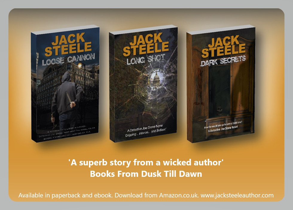 Great reviews for Detective Joe Stone