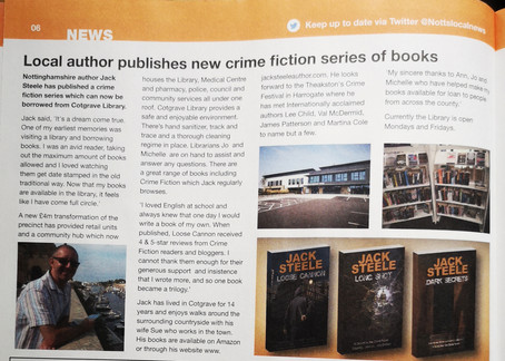 The Detective Joe Stone trilogy is now available in my local library