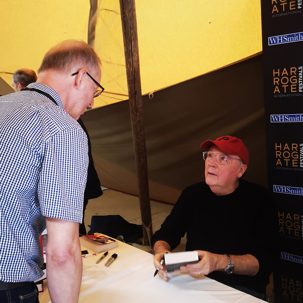 Meeting James Patterson